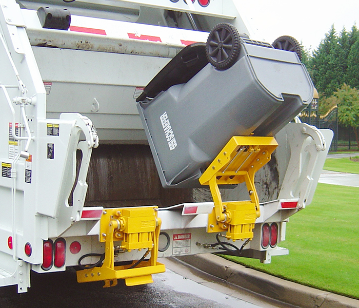 TL 208 12 RHK Garbage Truck Cart Lifters - Tippers