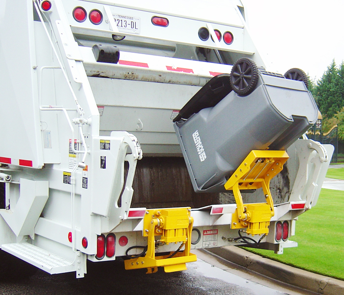 BTL-208 Trash Truck Cart Lifter - Tipper