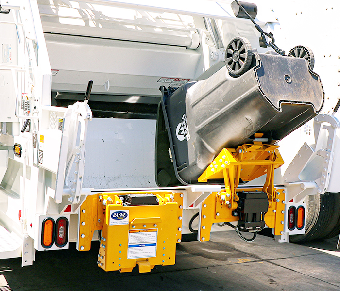 BTL Series Garbage Truck Cart Tipper - Lifter