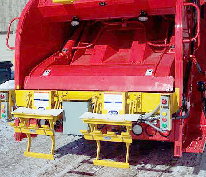 TL 208 48 Roller Bearings Garbage Truck Cart Tipper