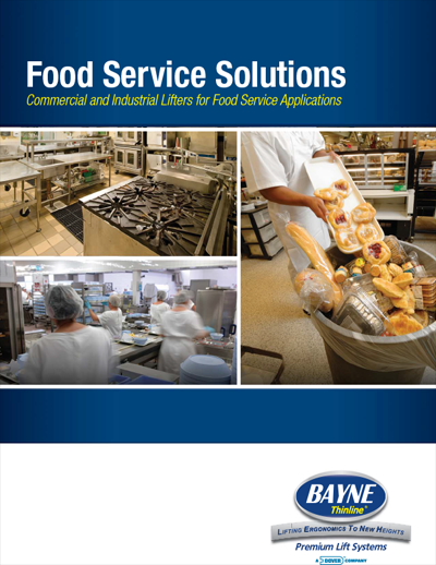 Food Service Waste Garbage Container Lifter Brochure