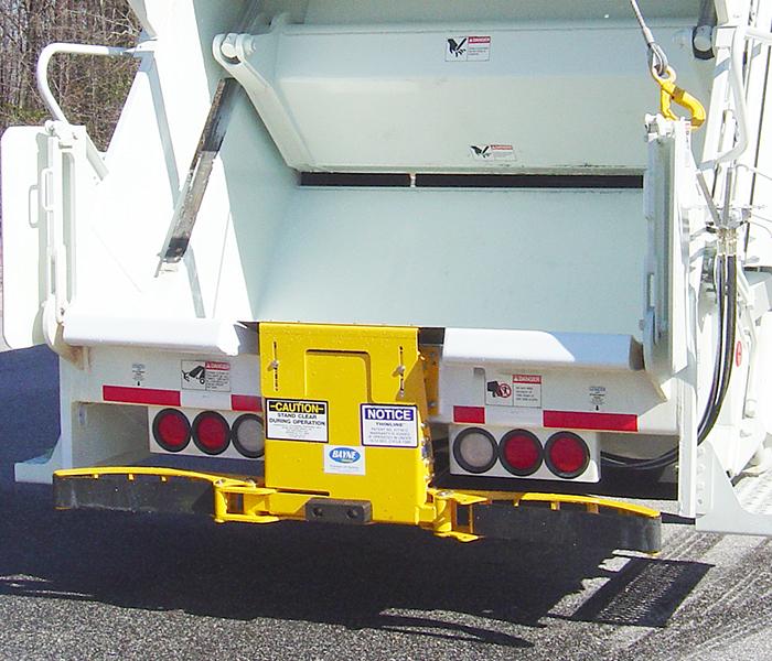 GRL 120 Garbage Truck Cart Tipper Grabbers