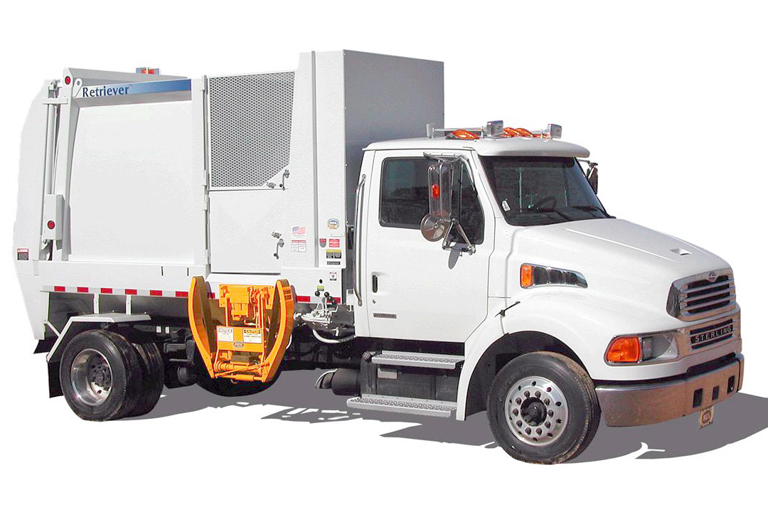 GTL 1114 Sideload Garbage Truck Lifters - Tippers