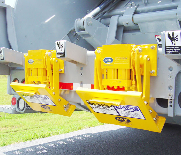 MBTL 180 Series Garbage Truck Cart Lifter - Tipper