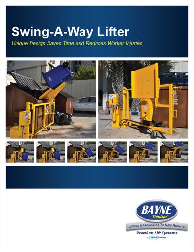 Swing-A-Way Lifter PDF Brochure Download