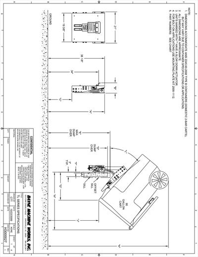 TL 1116 Series Spec Sheet