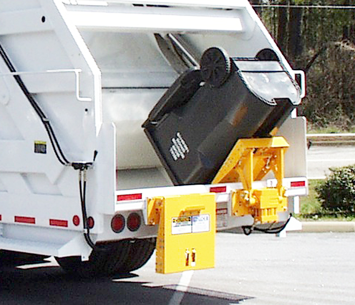 TL 1134 Top Holes Garbage Truck Tipper - Lifter