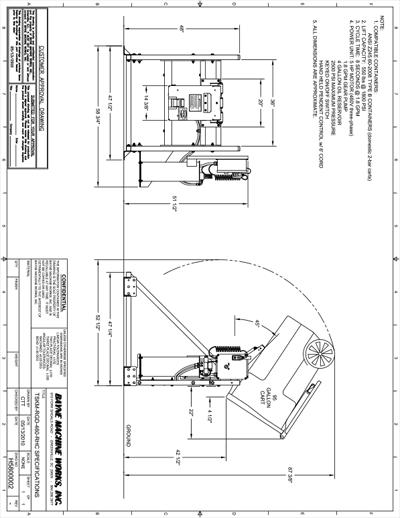 Taskmaster II-RGD-460-RCH Specs Download