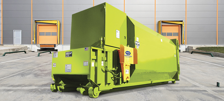 Commercial Dumpster & Compactor Lifter