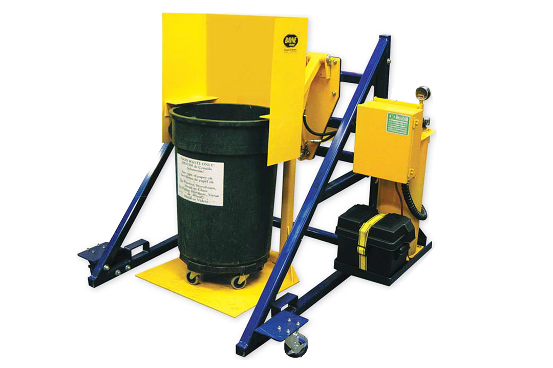Foodservice Restaurant Trash Container Lifter - Tipper