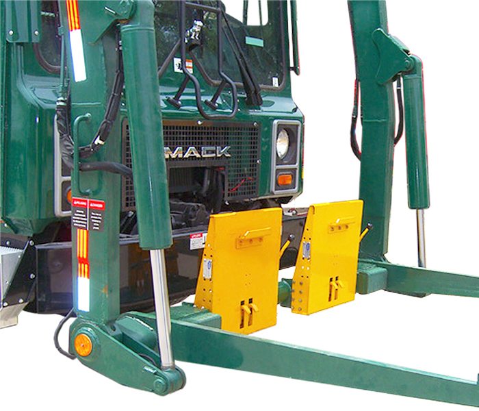 Fork Tube 1505-0080 Front Load Cart Lifter - Tipper