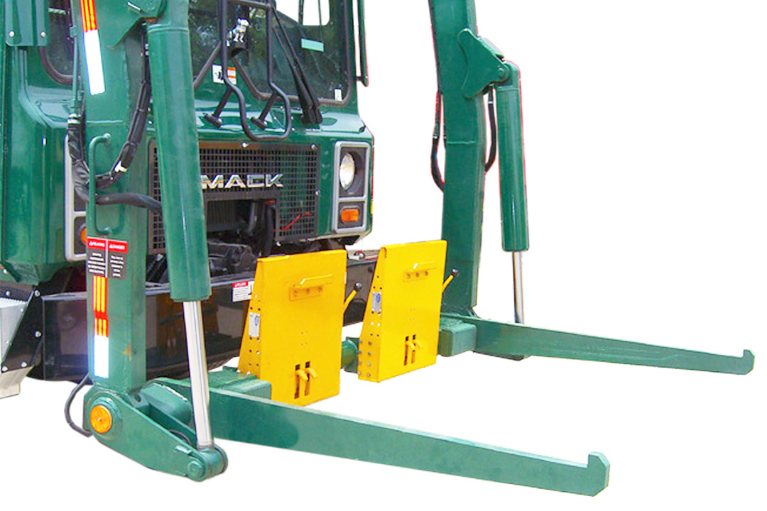 Front Load Garbage Truck Cart Lifters
