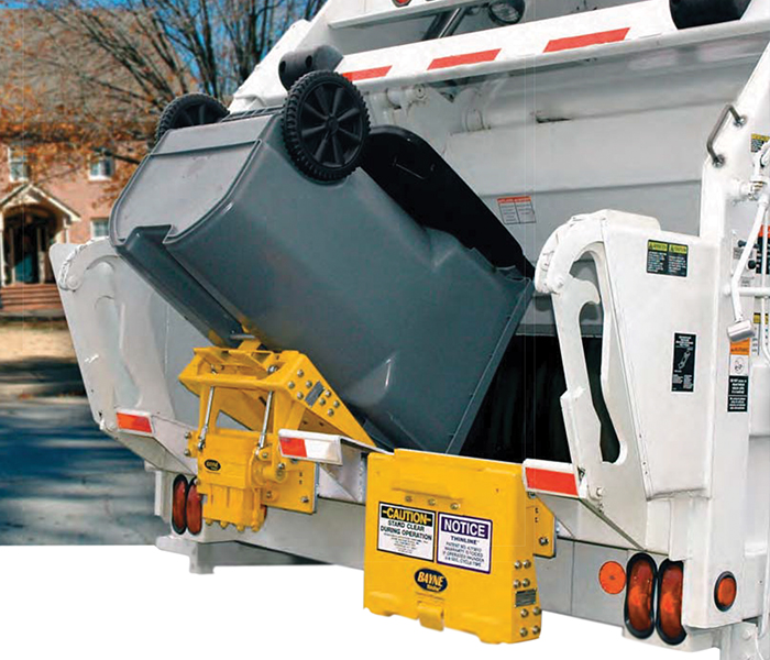 BTL Series 1900-2002 Garbage Truck Lifters