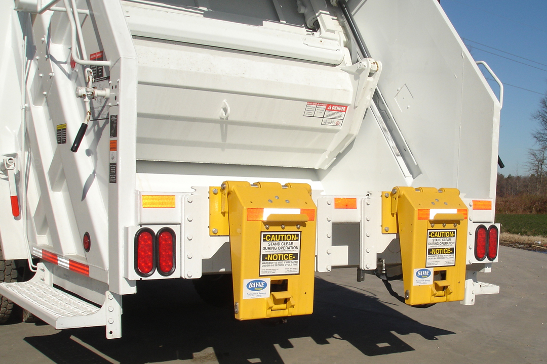 Taskmaster Garbage Truck Cart Tippers - Lifters
